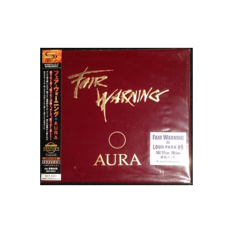 Fair Warning – Aura (Japanese very limited Edition)