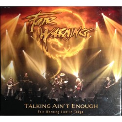 Fair Warning - Talkin' Ain't Enough (live Tokyo) (3CD BOXSET)