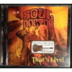 Soul Doctor - That's Live