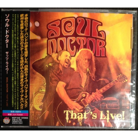 Soul Doctor - That's Live (Japan Ed.)