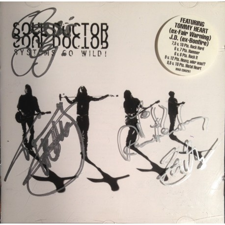 Soul Doctor - Systems Go Wild (signed !)